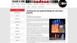 Cobertura periodística de Festival de Cine de Málaga para Encadenados.org
