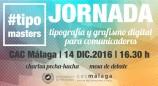 Jornada gratuita sobre tipografía y grafismo digital para comunicadores el 14 de diciembre en CAC Málaga, y taller previo sobre herramientas de visualización de datos interactivas