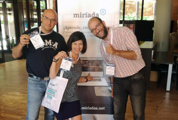 A la vuelta del Congreso EMOOCS2017 en la Carlos III de Madrid: compartiendo aprendizajes