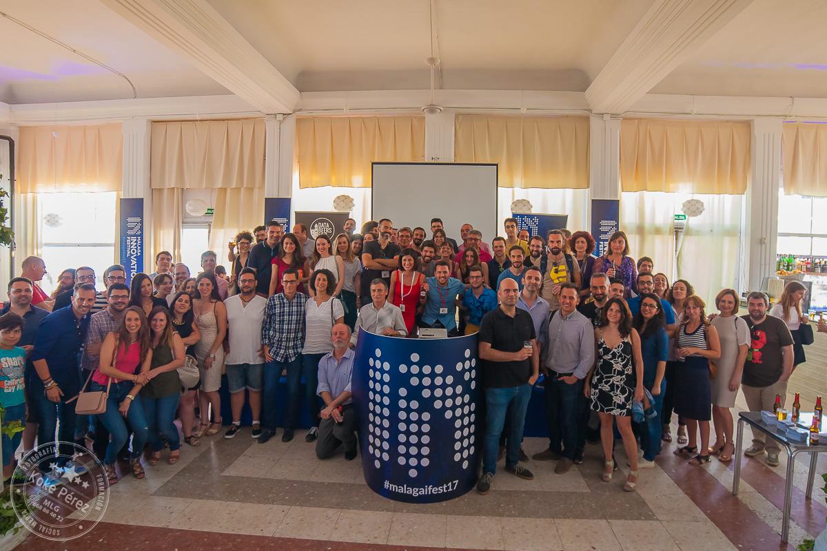 Nuestro #DatabeersMLG especial Málaga Innovation Festival, en El Balneario el 7 de junio, con más de 200 asistentes