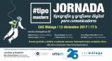 Segunda edición de Tipomasters, jornada gratuita y abierta sobre grafismo y comunicación visual el 13 de diciembre en CAC Málaga