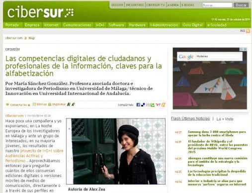 María Sánchez Cibersur