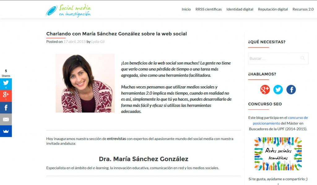charlasocialmediainvestigacion