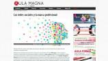 Artículo sobre uso profesional de redes sociales Aula Magna