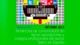 Informe sobre Comunicación en Red en Colegios y asociaciones profesionales Teleco en España