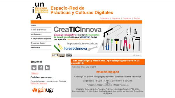 Coordinación proyecto UNIA Prácticas y Culturas Digitales