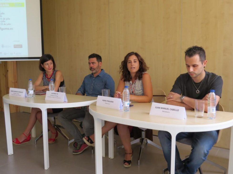 Hablando sobre startups y Databeers Málaga en un curso de verano sobre emprendimiento e innovación de PTA-FGUMA