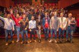 DataBeers Málaga llena el Teatro Echegaray con su especial Datos y Cine, con seis ponencias y más