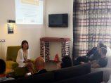 Compartiendo experiencia sobre los #webinarsUNIA, seminarios por videoconferencia gratuitos, en la Casa Ronald Mac Donalds de Málaga (¡y traemos nuevos para octubre!)
