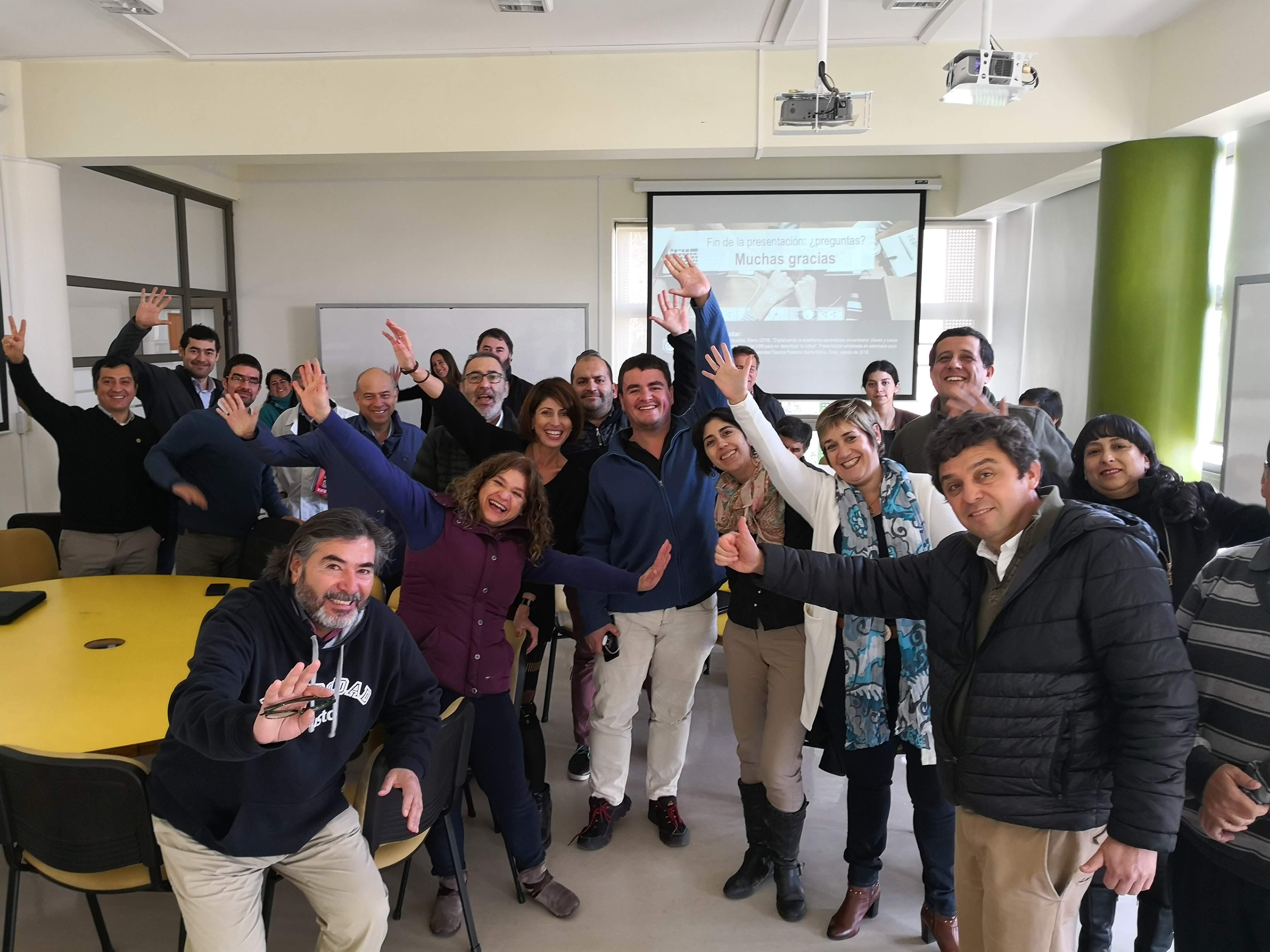 Compartiendo claves y experiencias sobre e-learning y formación de profesorado en la Universidad Federico Santa María de Chile