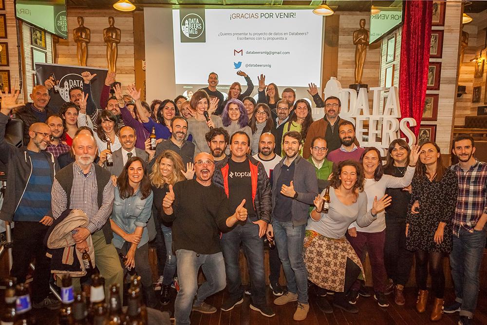 Organización de Databeers Málaga (2015-actualidad)